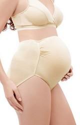 กางเกงในคนท้องแบบเอวสูง แบบเรียบ ผ้าเนื้อนิ่ม