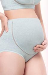 กางเกงในคนท้องแบบเอวสูง รอบใต้ท้องแต่งผ้าตาข่าย