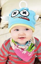 เซ็ตหมวกเด็กพร้อมผ้ากันเปื้อน LITTLE ANGEL HAT