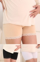 กางเกงซับในคนท้องชายผ้าลูกไม้   ผ้ายืดหยุ่นสูง