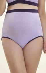 กางเกงในคนท้องแบบเอวสูงทรงสปอร์ต ผ้าหนานุ่ม ใส่กระชับท้อง
